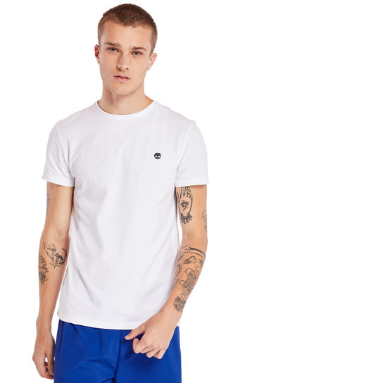 Dunstan River T-shirt voor Heren in wit | Timberland