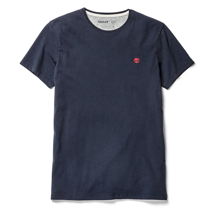 Dunstan River T-Shirt für Herren in Marineblau-