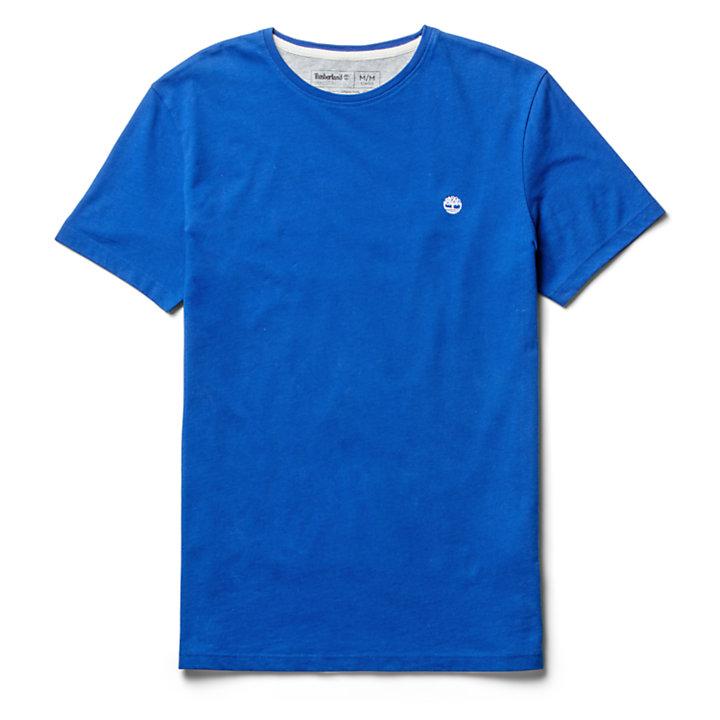T-shirt Dunstan River para Homem em azul-