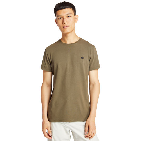 T-shirt da Uomo Dunstan River in marrone | Timberland