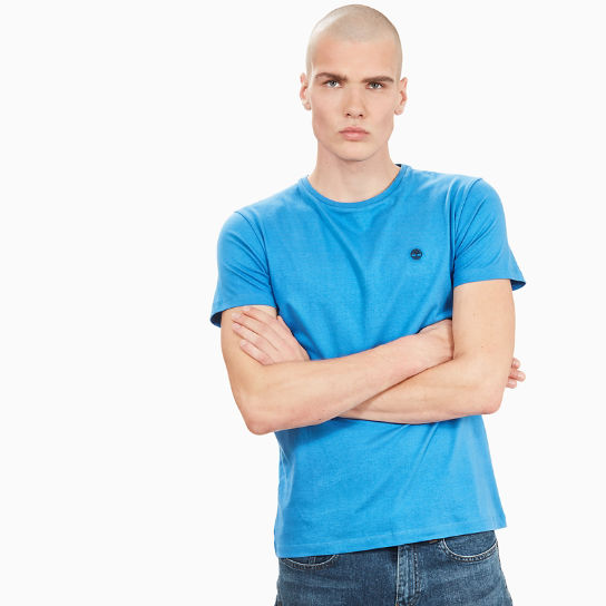 Dunstan River T-shirt for Men in Blue | Timberland