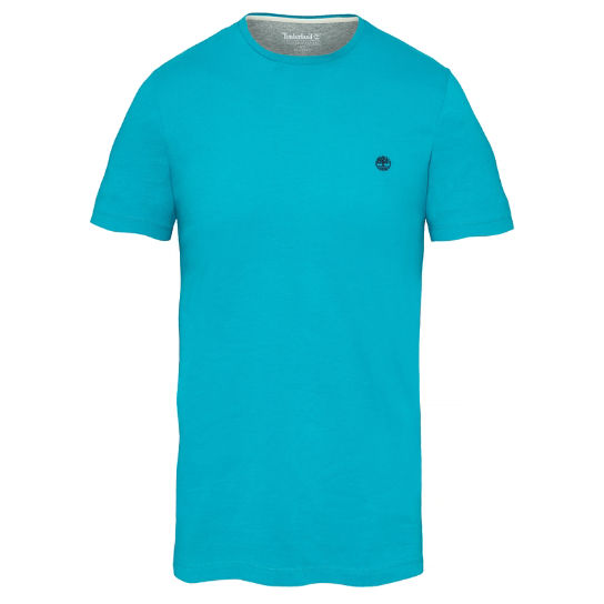 Dunstan River T-Shirt Homme Turquoise | Timberland