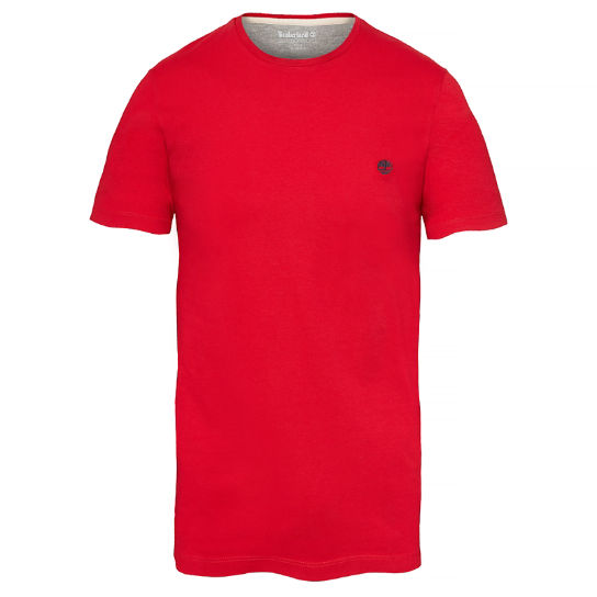 Dunstan River T-Shirt Homme Rouge | Timberland