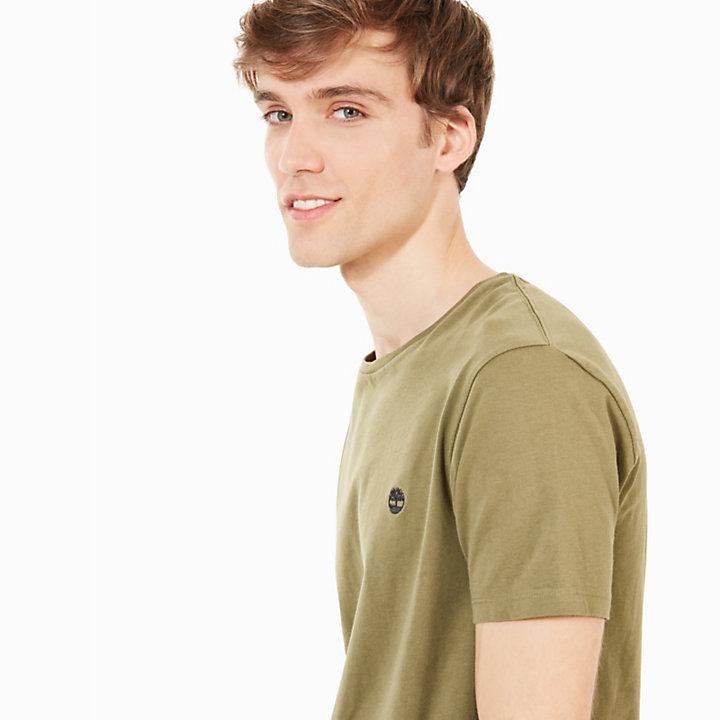 T-shirt Dunstan River pour homme en vert-