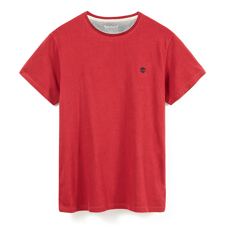 Dunstan River T-shirt voor Heren in Rood-