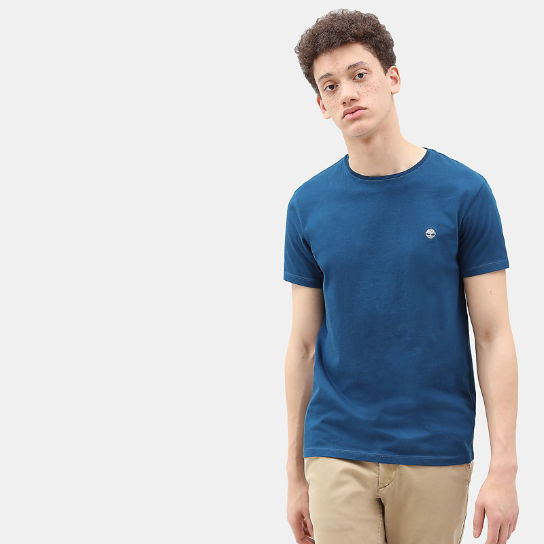 Dunstan River T-Shirt for Men in Teal | Timberland
