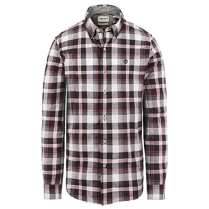Back River Tartan Overhemd voor Heren Bleekgrijs-