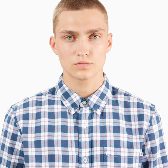 Pleasant River Tartan Shirt for Men in Red | Timberland
