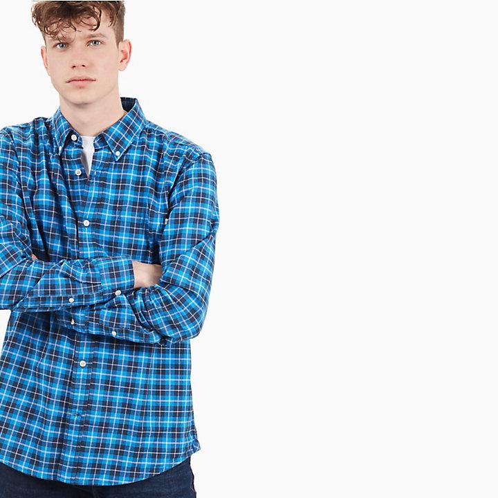 Chemise tartan Pleasant River pour homme en bleu-