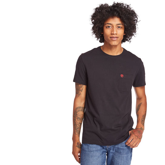 Dunstan River Pocket T-Shirt for Men in Black | Timberland