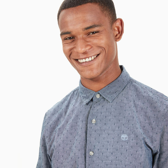 Tioga River Chambray Shirt for Men in Navy | Timberland