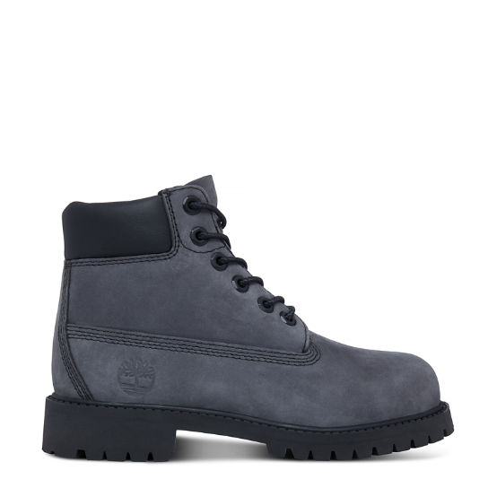 6-Inch Premium Boot Enfant grises | Timberland