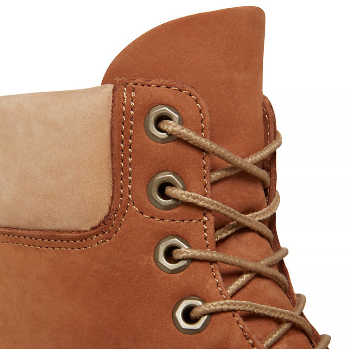 6-Inch Boot Bruin Heren-