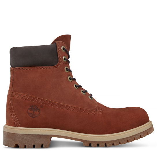 Men's Timberland® Icon 6-Inch Boot Rust Brown | Timberland