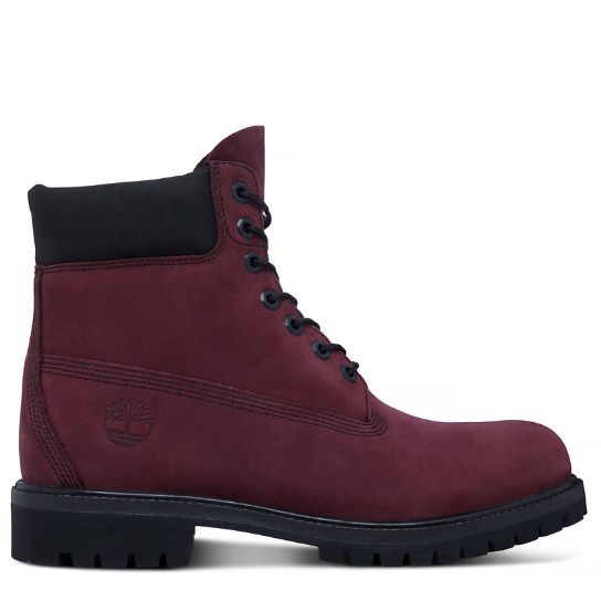 Men's Timberland® Icon 6-Inch Boot Deep Red | Timberland