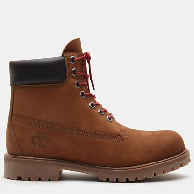 6-Inch+Boot+Exclusive+Premium+pour+homme+en+marron