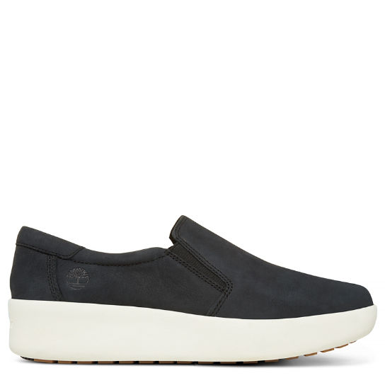 Damen Berlin Park Slip-on Shoe Schwarz | Timberland