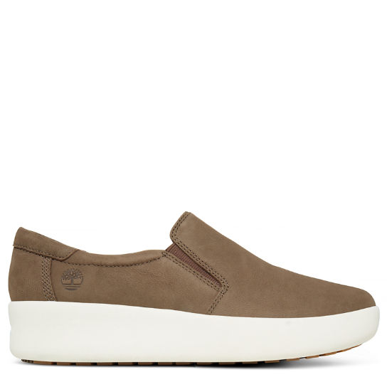 Berlin Park Slip-on Shoe Grijs-beige Dames | Timberland