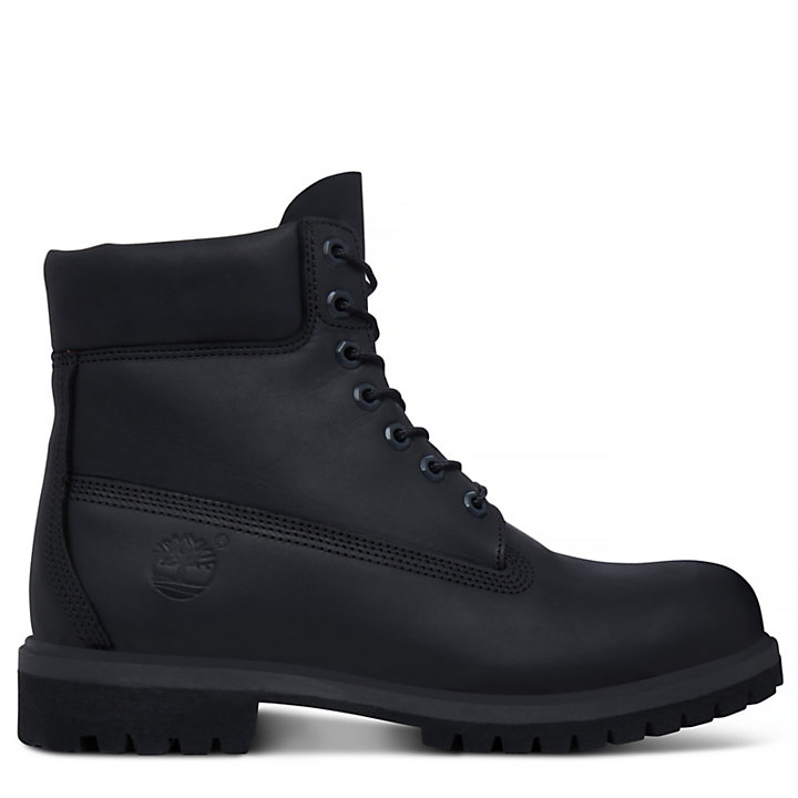 Classic 6 Inch Boot for Men in Black-