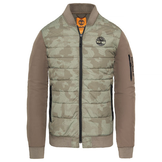Men's Insulated Bomber Camouflage | Timberland