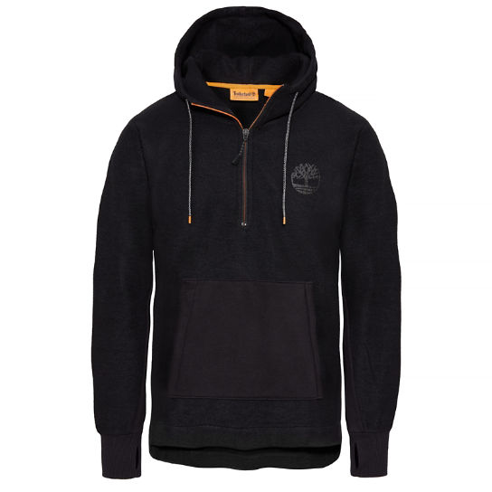 Oversized Hooded Sweatshirt Uomo Nero | Timberland