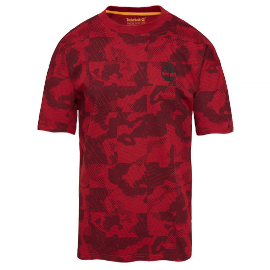 Men's Oversized T-Shirt Red | Timberland