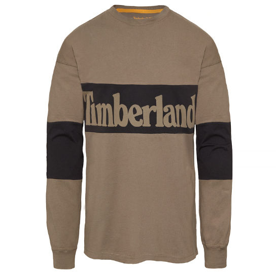 Oversized T-Shirt Homme Beige | Timberland