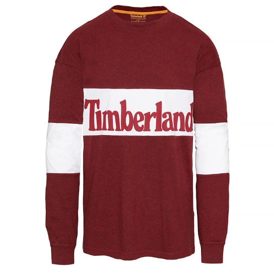 Oversized T-Shirt Hombre Rojo | Timberland