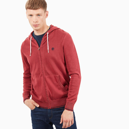 Souhegan River Hoodie for Men in Red | Timberland