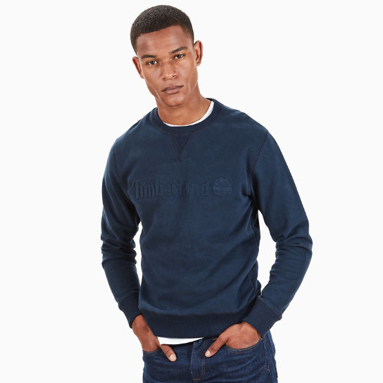 Taylor River Sweatshirt for Men in Navy | Timberland
