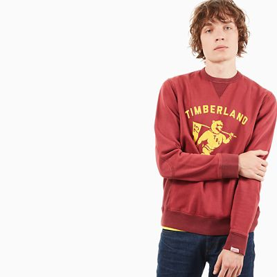 Bunker+Creek+Sweatshirt+f%C3%BCr+Herren+in+Rot