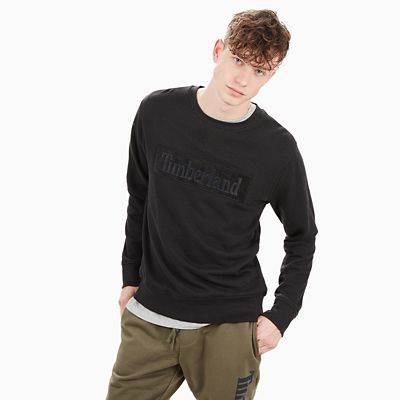 Shepards+River+Sweatshirt+for+Men+in+Black