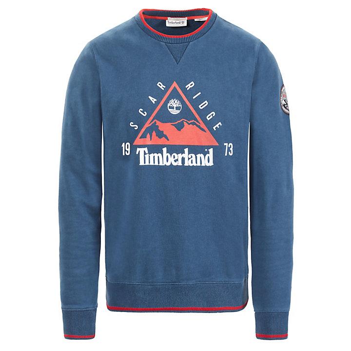 Scar Ridge Sweatshirt für Herren in Navyblau-