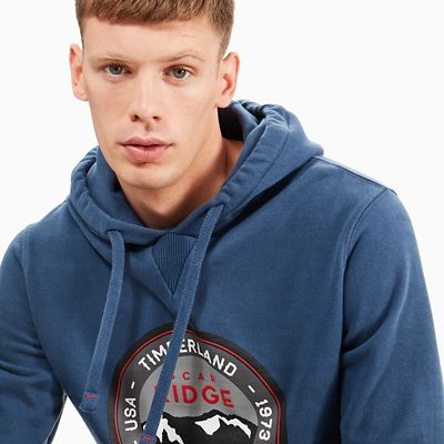 Scar+Ridge+Hoodie+for+Men+in+Navy