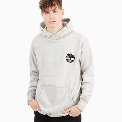 Heritage+Hoodie+for+Men+in+Grey