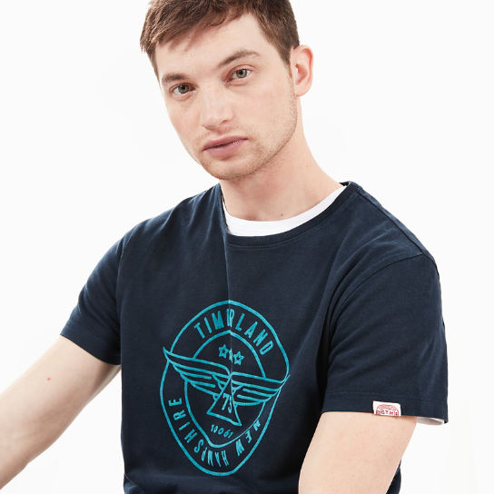 Squam River Vintage T-Shirt for Men in Navy | Timberland