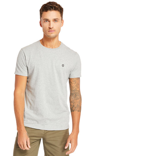 Three-Pack of T-Shirts for Men in Grey/White/Black | Timberland