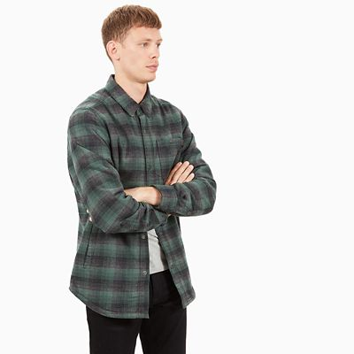 Mascoma+River+Overshirt+for+Men+in+Green