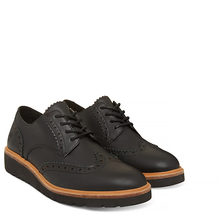Damen Ellis Street Oxford Schwarz-