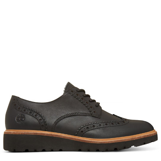 Women's Ellis Street Brogue Oxford Black | Timberland