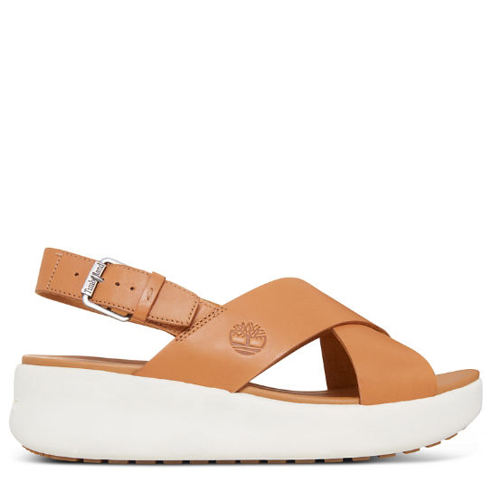 Women's Los Angeles Wind Slingback Sandal Yellow | Timberland