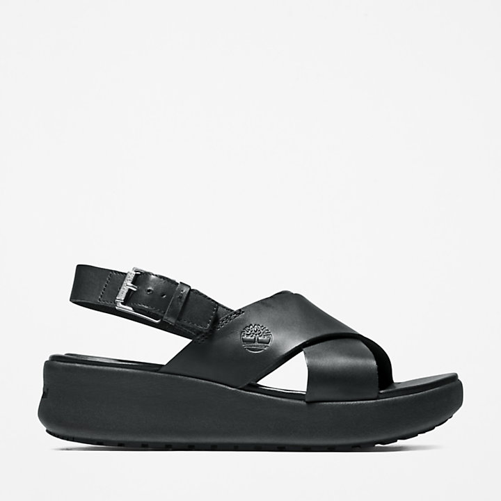 Los Angeles Wind Slingback for Women in Black-