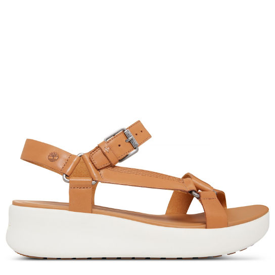 Los Angeles Wind Sporty Sandal Tan Donna | Timberland