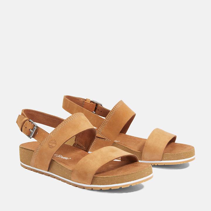 Sandalia Malibu Waves para Mujer en marrón-