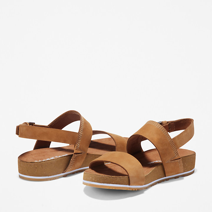 Malibu Waves Sandal for Women in Brown-