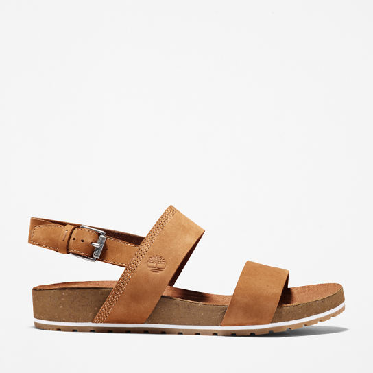 Malibu Waves Two Strap Sandal Bruin Dames | Timberland