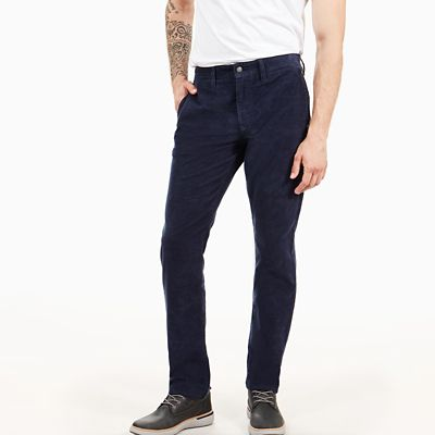 Squam+Lake+Cordhose+f%C3%BCr+Herren+in+Navyblau