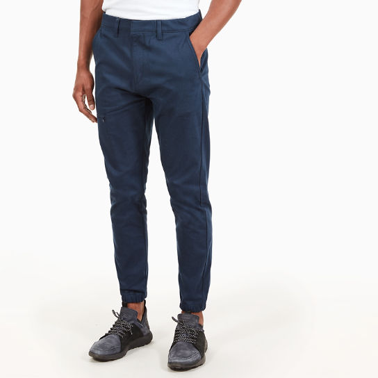 Lovell Lake Tracksuit Bottoms for Men in Navy | Timberland