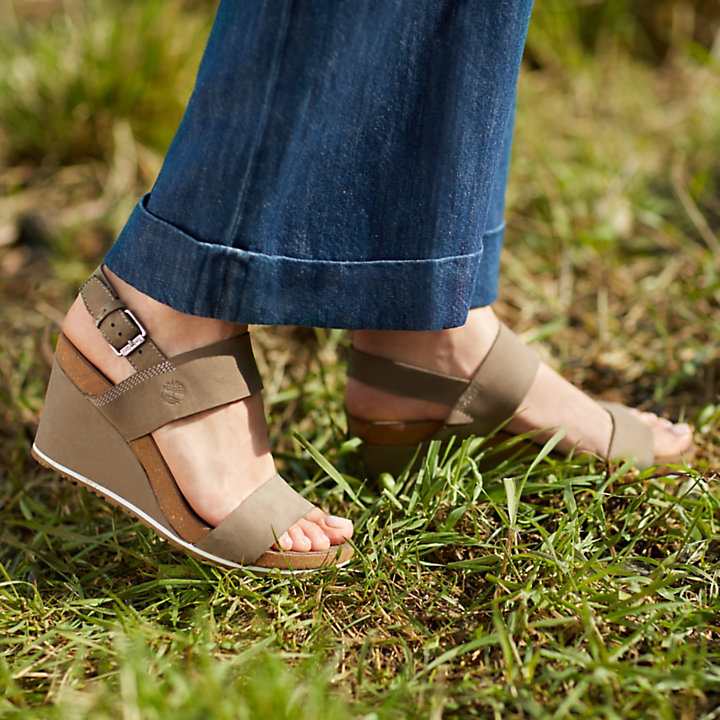 timberland femme sunset wedge