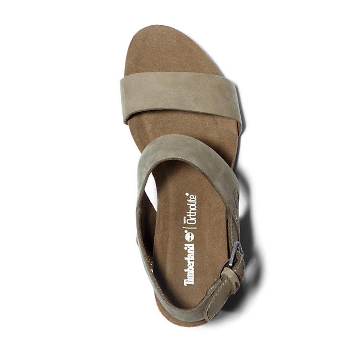 Women's Capri Sunset Wedge Sandal Greige-